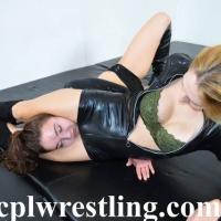 DSC_0153-1 Bella vs Rosalei Leather Outfit  - Gallery