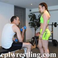 DSC_0175 Bella vs Chris Workout Scene  - Gallery