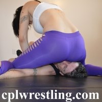 cynara-vs-chadam-purple-spandex-match-5 Cynara vs Chadam Purple Spandex Match